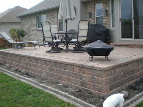 brilliant raised patio pavers raised patio pavers i for