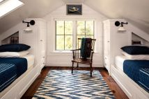 Dusty Attic Classic Cottage Bedroom