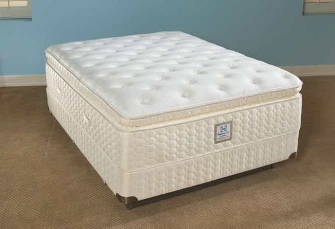 Mattreses Sealy Posturepedic With Euro Top Silver Romance Mattress Plush Pillow
