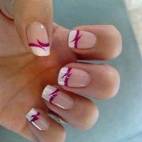 cute french nail designs simple and easy : Nail Art ...