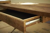 How to Build a Reclaimed Wood Office Desk | Wood office ...