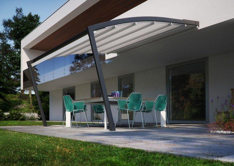 Terrassenüberdachung Mit Alu Gestell Und Glas Haus Pinterest