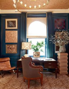 look inside the kips bay showhouse markham roberts teal lair also rh pinterest
