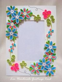 Easy Quilling Designs For Photo Frames