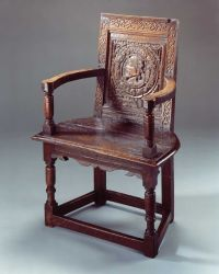 Elizabethan chair, with earlier Tudor panel | Grab A Seat ...