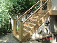 Outdoor Wood Staircase Railing Design 1024 x 768  315 kB ...