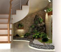 Indoor Garden Under the Stairs
