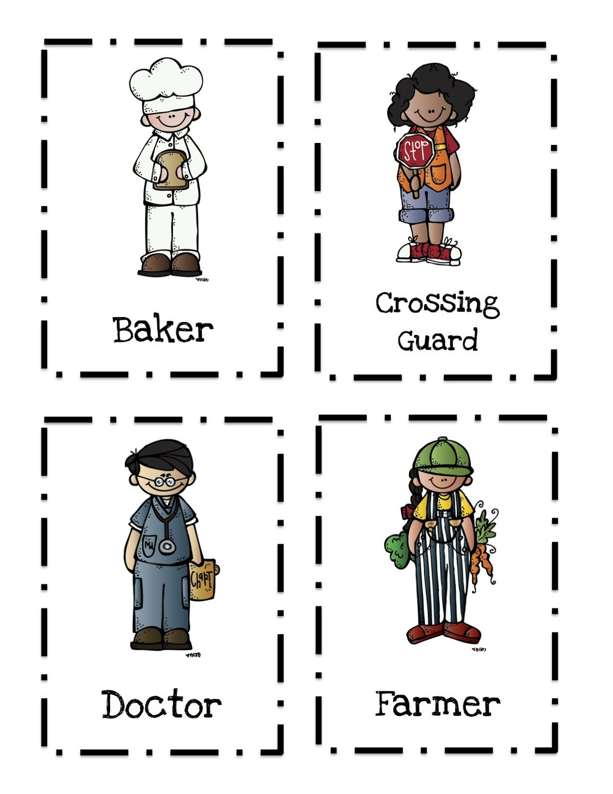 Preschool Printables Community Helpers