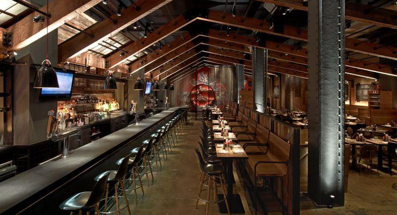 Wildwood BBQ Restaurant New York  Restaurant Interiors