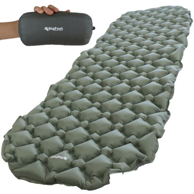 Foot Outdoor Ultra Compact Airlite Backng Air Mattress W Cell Technology Super Comfortable Perfect For Lightweight Free Repair