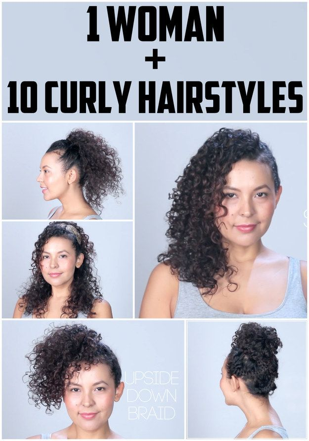 10 Hairstyles For Curly Hair You Need To Try ASAP Facebook