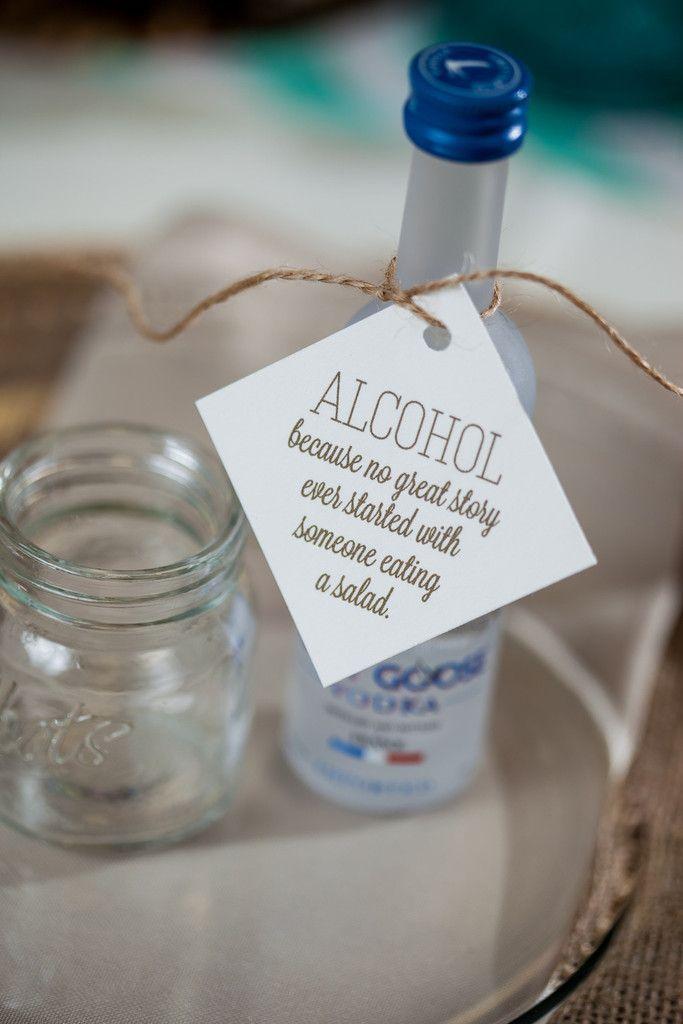 Alcohol Wedding Favors on Pinterest  Funny Wedding Signs Rustic Wedding Favors and Funny