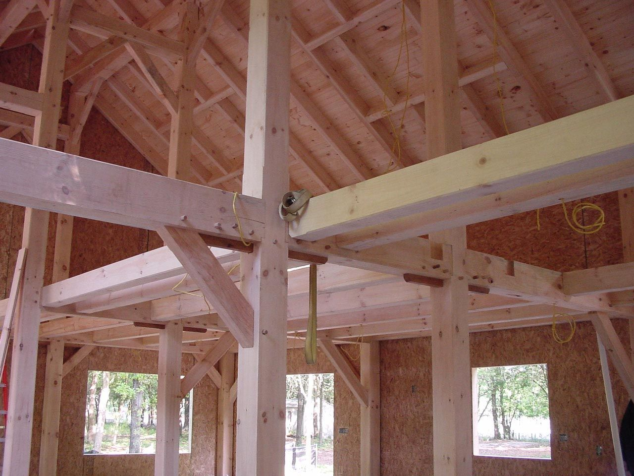 hight resolution of planning wiring in timber frame homes is important and not