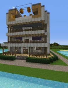 Jacylin   house  minecraft creation also modern pinterest ideas rh