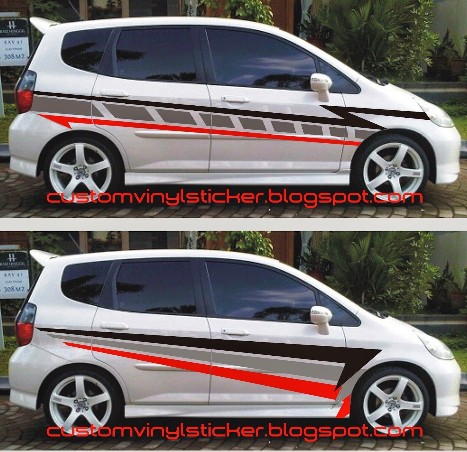 cutting sticker grand new avanza harga yaris trd 86 modifikasi stiker mobil silver 2017
