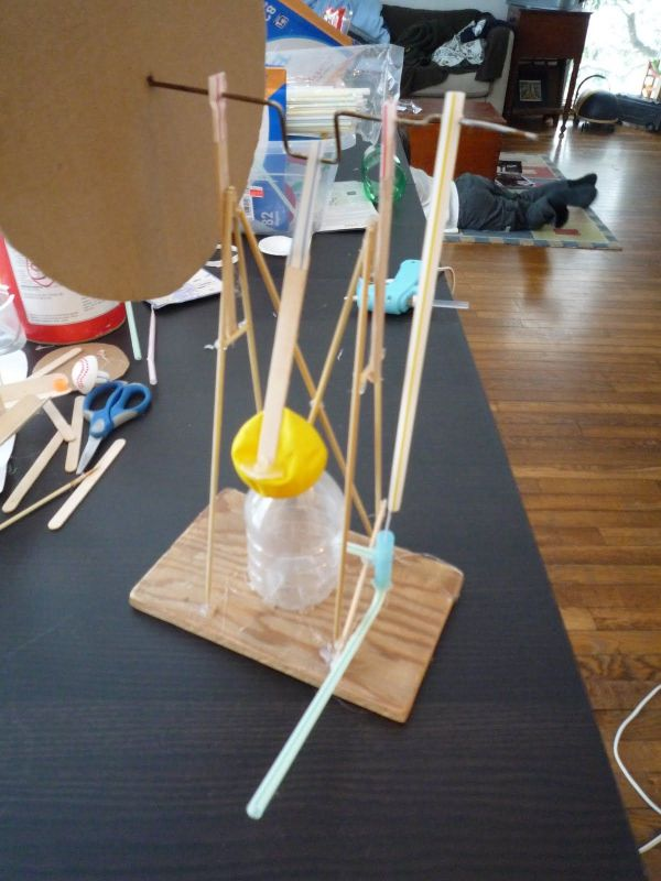 Make Model Steam Engine. Balloon Powered. Cool