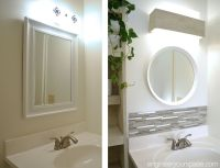 DIY small bathroom remodel: this bathroom makeover has it ...