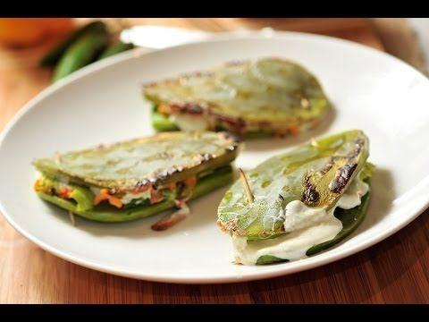 Nopales rellenos  Recetas de cocina mexicana Baked