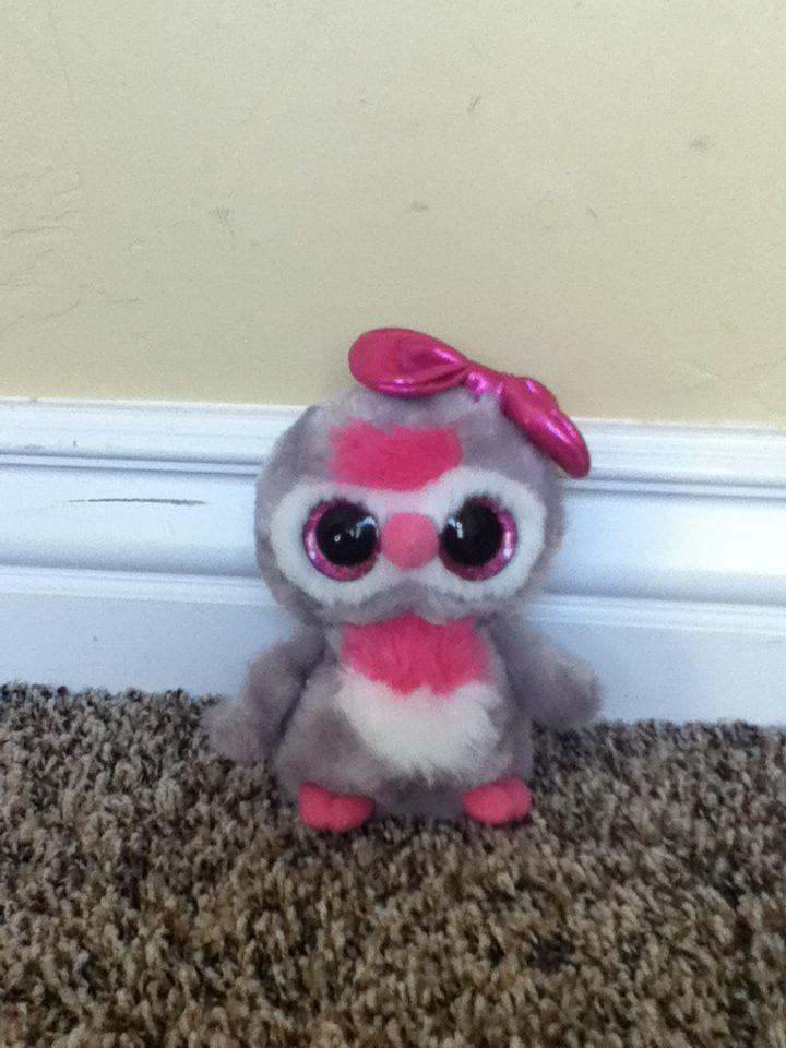 Owl Beanie Boo So Cute Gifts Pinterest Beanie Boos And Owl