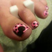 disney toe nails ideas