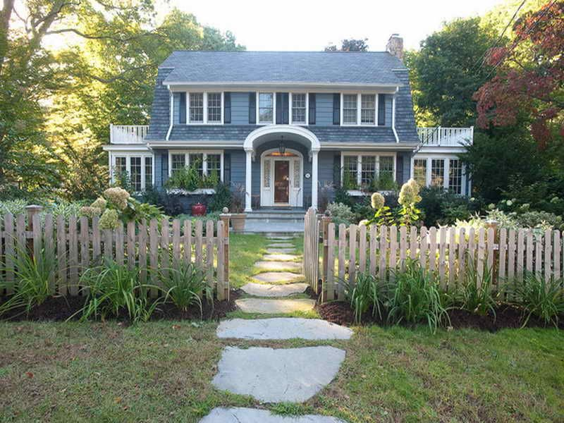 Dutch Colonial House Plans Dutch Colonial House Plans With Wooden
