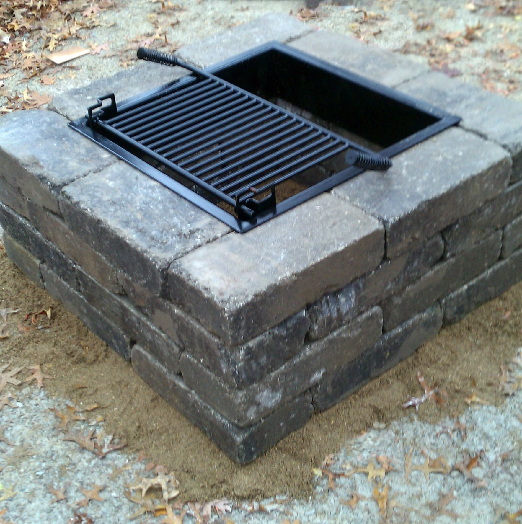 Square Fire Pit Chicago Blend  For the Home  Pinterest