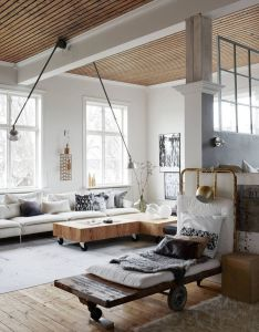 Love the coffee table interior design loft sweden also wow check out these lights maison et deco pinterest rh