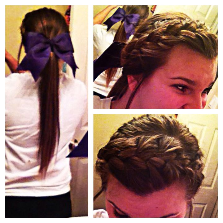 The prefect hair for a cheerleader of pommie Perfect for Friday