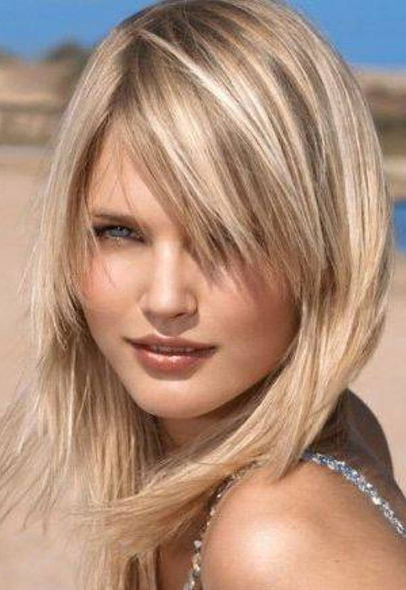 25 Medium Hairstyles For Girls With Straight Hair Hair With
