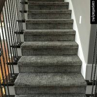 Love this texture on the stairs! | Runner & Area Rug ...