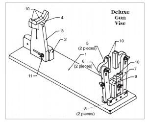 Gun Vises for Almost Nothing, with Complete Dimensions