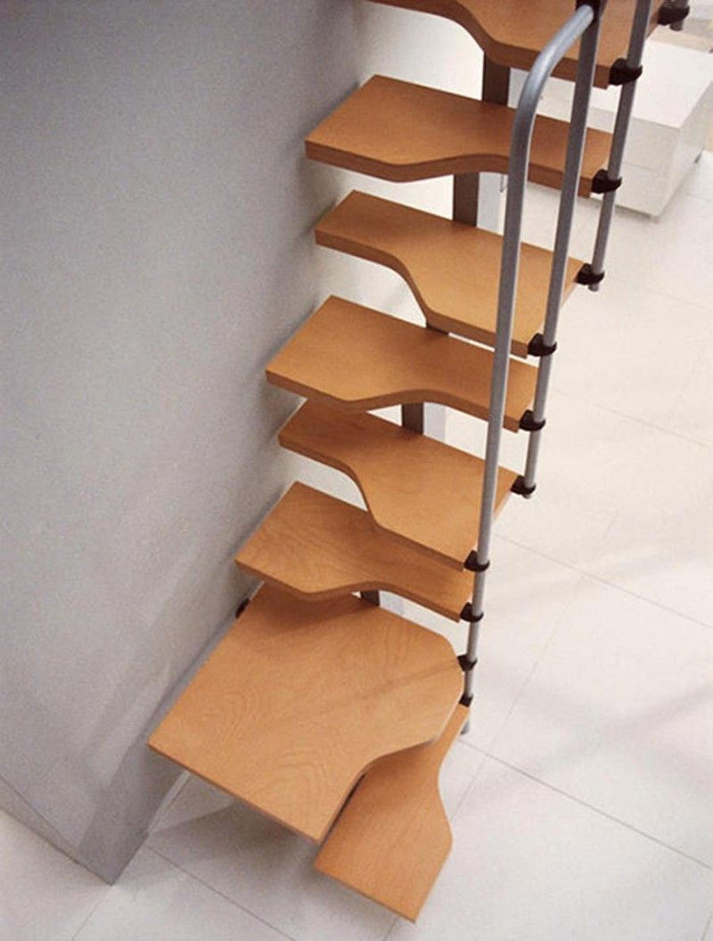 Awesome Staircase For Small Space Attractive Staircase Ideas For
