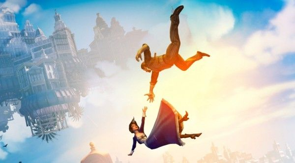 Bioshock Infinite Falling Wallpaper Catching People Falling From Sky Google Search Apart