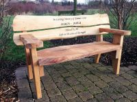Wooden Memorial Benches For Gardens  Garden Ftempo