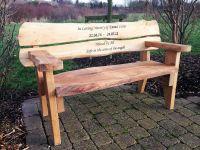 Wooden Memorial Benches For Gardens  Garden Ftempo