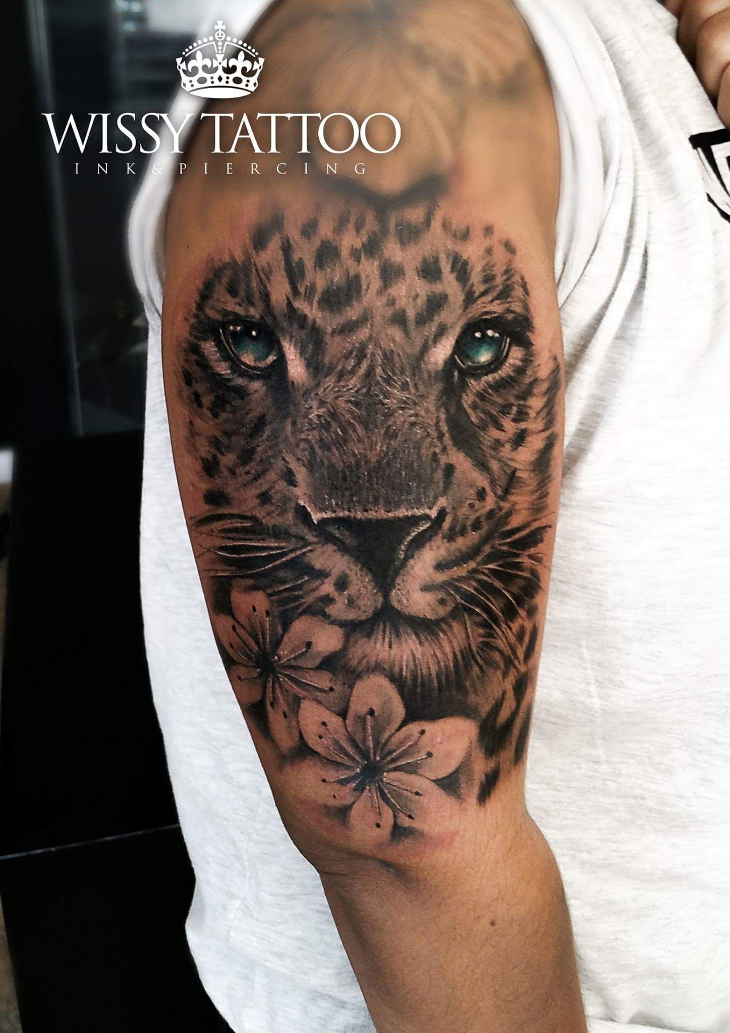 Leopard Tattoo By Manulopez Wissy Tattoo  Tattoo Ideas