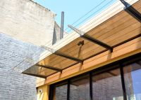 Apartments:Glamorous Wood Paneling Steel And Canopies ...