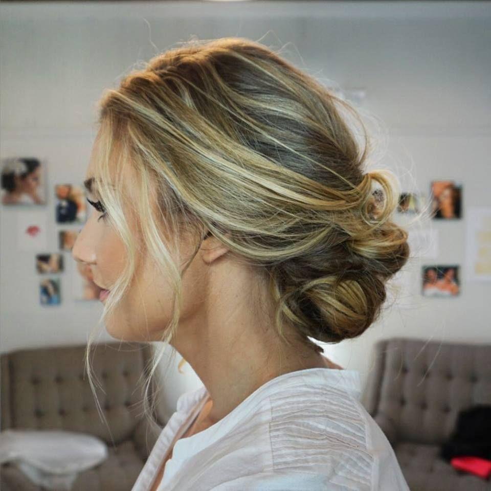 Loose  beachy  effortless bridal hair Bridal Hair