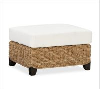 Holbrook Seagrass Sectional Ottoman   Pottery Barn   BARRY ...