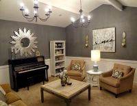 Living room design with upright piano | ... upright piano ...