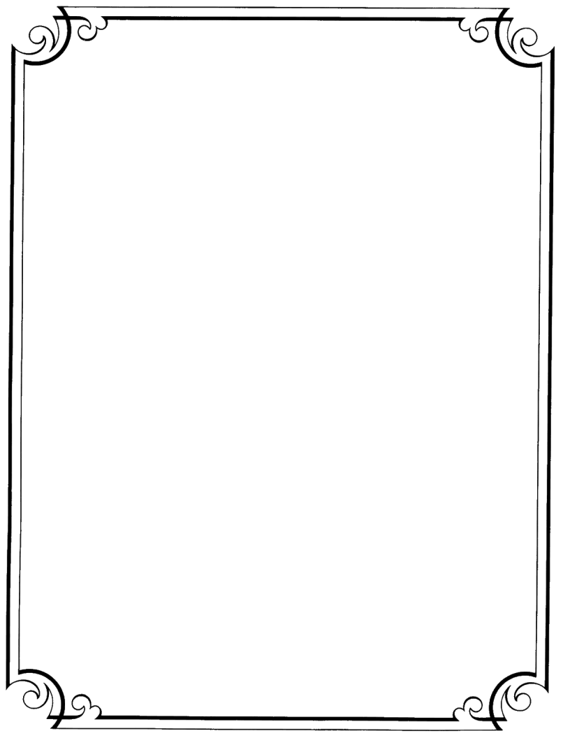 Simple Frames And Borders Png | Frameswalls.org