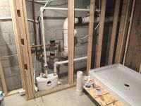 Saniflo bathroom with behind wall macerator. | Creative ...