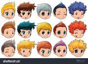 cartoon boy hair - clipartfest