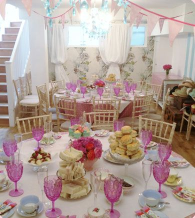 Tea Party Birthday Teas Hen Parties Baby Showers Sweet 16