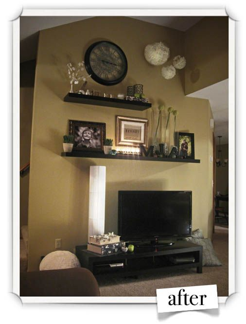 We have  ton of wall space above our tv area home projects pinterest spaces and tvs also this is relevant to my interests rh