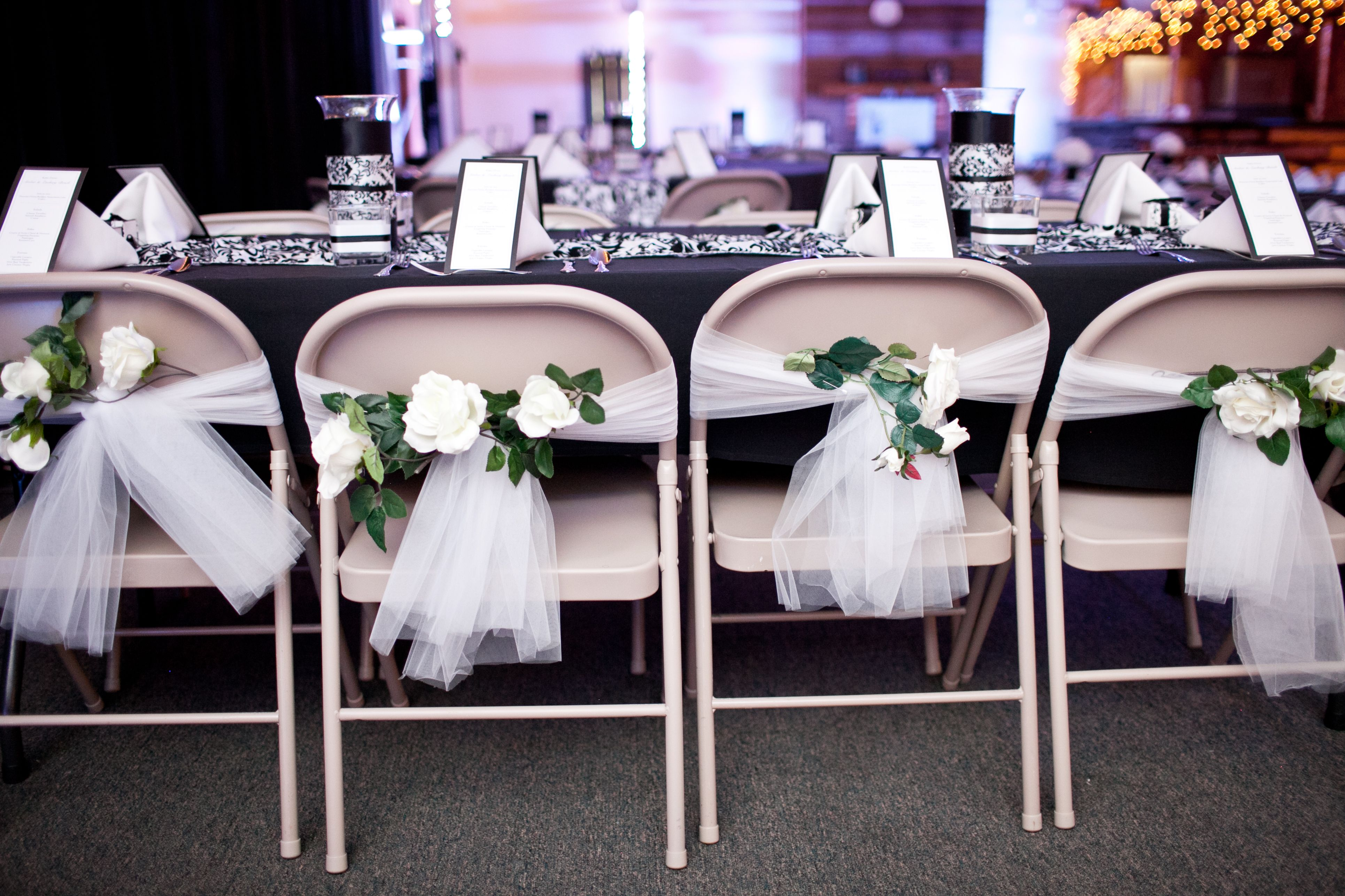 diy organza chair covers white wooden hire do it yourself wedding decorations make a quick