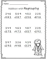 3-digit addition with regrouping--2nd grade math ...