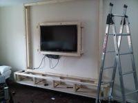 diy floating wall unit idea   Living room   Pinterest ...