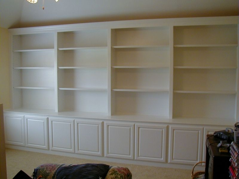 Tall Corner Bookcase Doors