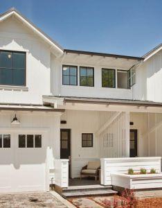 The modern farmhouse duplex blends values of  single family custom home design with also rh ar pinterest